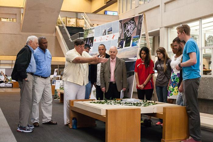 Students help design hospital for Honduras