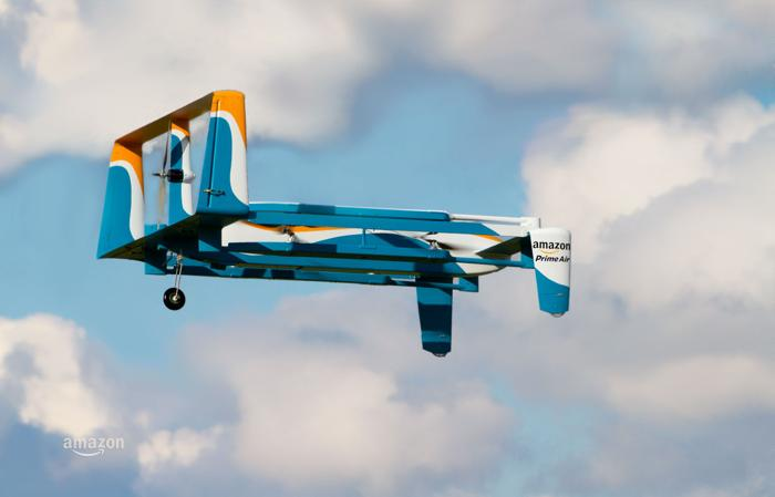 Amazon rolls out new drone model Sunday
