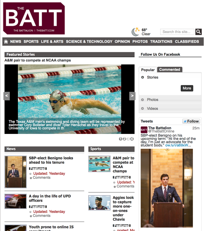 The Batt has a new website