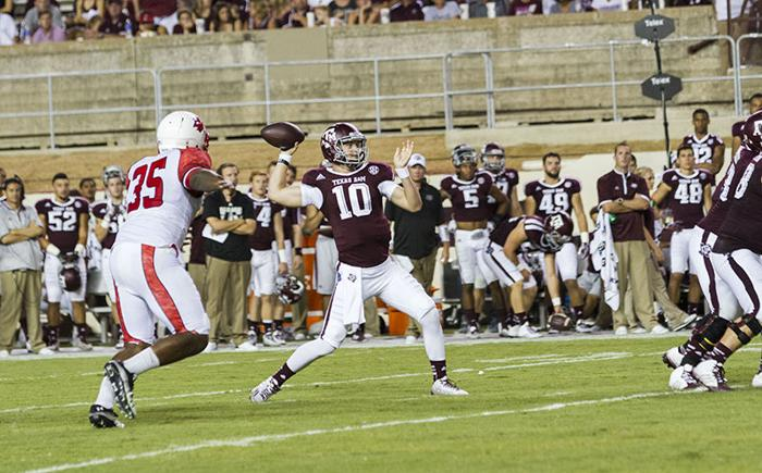 A&M veterans chime in on quarterback competition