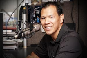 <p>New ESPN San Antonio 1250AM Host and Former Dallas Cowboy and Coach, Dat Nguyen</p>