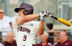 <p>Walker Pennington hit his fourth home run of the year to give the Aggies a late lead they would never relinquish.</p>