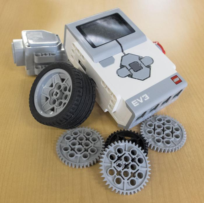 Learning with Legos: youths build robots with popular toy