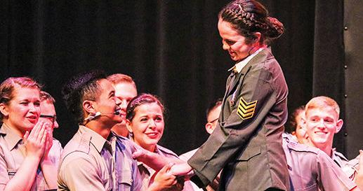'Corps of Cadets: The Musical' finds success in satire