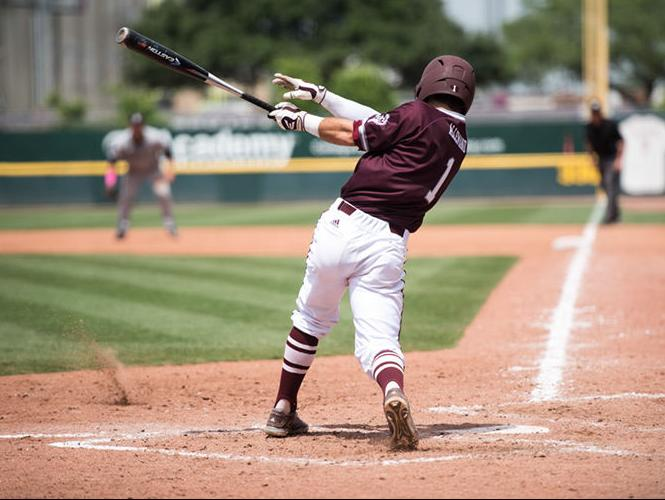 Offensive slugfest ends in 2-1 series loss for Aggies