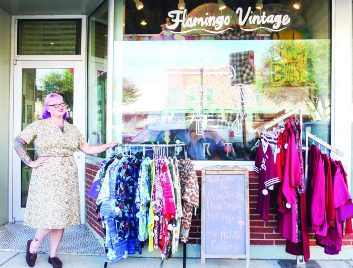 Shop owner covers miles to bring vintage variety to Downtown Bryan