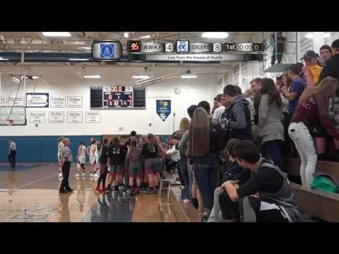 12/21/2016 Girls' Varsity Basketball vs. Franklin Presented by Oil ...