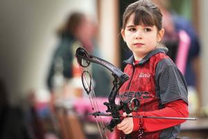 Seneca girl, 8, right on target with her sharpshooting skills