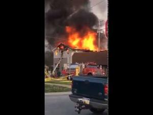 Fire in Knox - Video by Mitchell Hogue