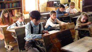 Dust bowl classroom