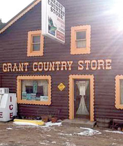 Grant store, post office closing