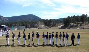 The Platte Canyon baseball team
