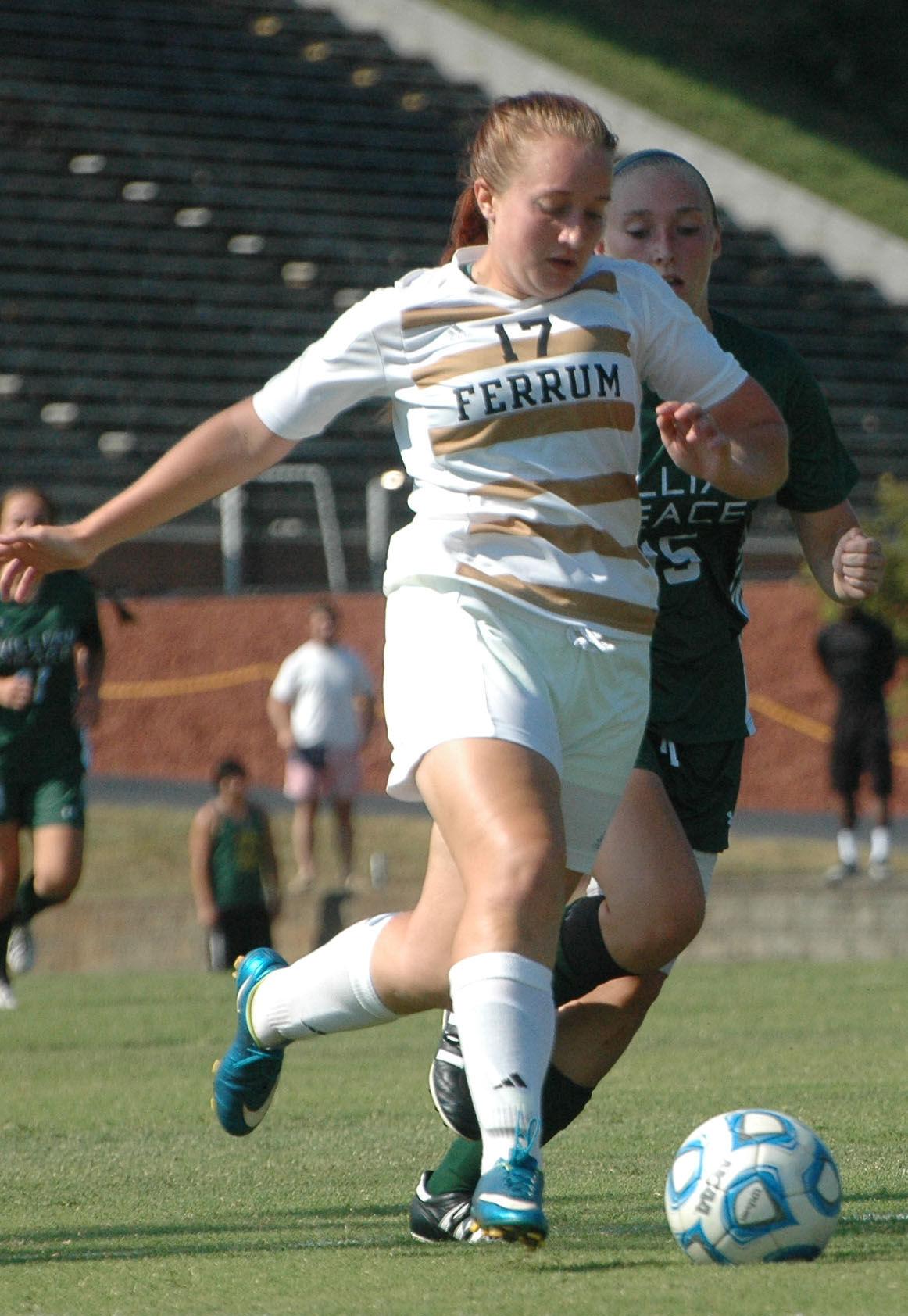ferrum women Emory & henry women's soccer shuts out hollins,  ferrum women's soccer tops emory & henry 2-0, wednesday in non-conference action september 20, 2017.