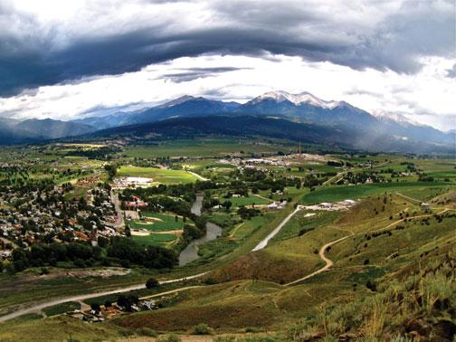Ark Valley from Tenderfoot