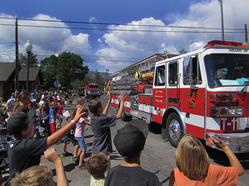 Firetruck in Parade