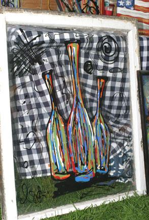 Lindsay Sutton's artwork on display