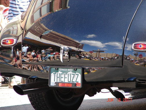 THe FUzz Car