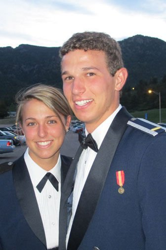 LT Wrendy Rayhill and her brother, LT Rett Rayhill