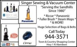 Singer Sew & Vacuum Center