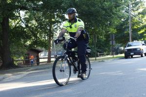 moto patrulha da polícia