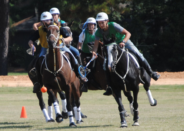 Riders Gather for Polocrosse Mega Clinic