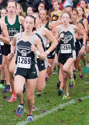 Strongsville girls cross country