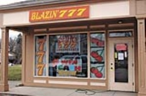 Blazin' 777 Internet cafe evicted