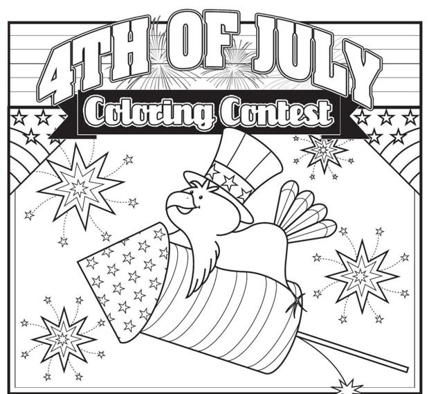 4th Of July Coloring Pages Pdf : Th of july coloring page thepress contest games