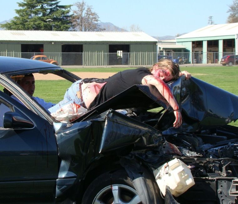 Cinema Mobile Phone Car Crash