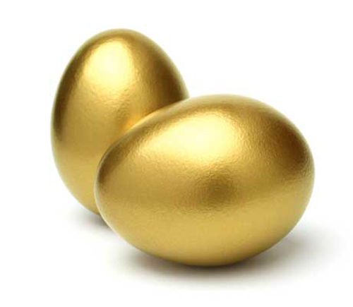 Find the free cash in golden eggs courtesy of The Alarm