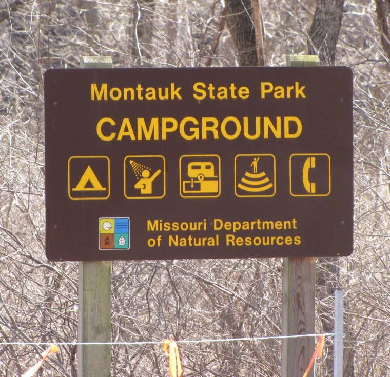 Campgrounds were full surrounding the opening day of trout season
