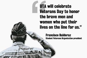 UTA plans Veterans Day celebrations