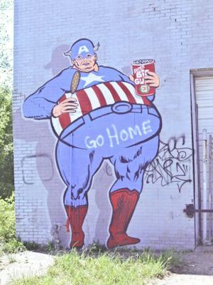Metro Detroit street art project inspires, offends