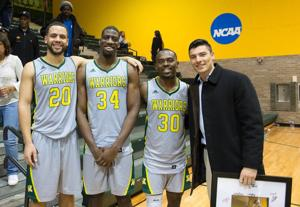 Wayne State basketball celebrates Senior Night