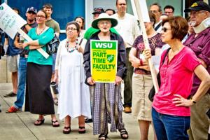 WSU administration, faculty union disagree over contract negotiations
