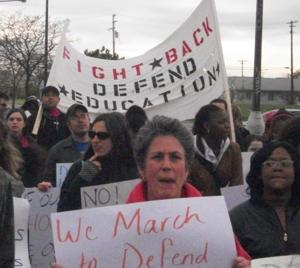 Detroit education advocates march against school closings