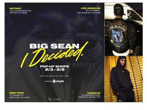 Big Sean bounces back, releasing album and pop-up shops