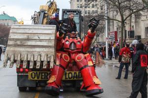 Detroiters Celebrate Marche du Nain Rouge
