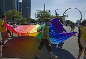 LGBT supporters pack Hart Plaza for biggest Motor City Pride in history
