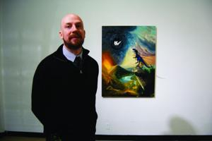 Two art professors unveil sabbatical work