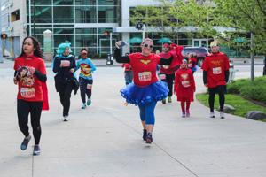 Super heroes take over the streets of Detroit