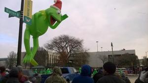 Wayne State Warriors to carry Kermit the Frog