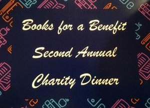 Books for a Benefit holds charity dinner