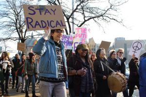 Sister march at WSU totals 4,000 protesters