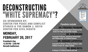 Wayne State to host 'Deconstructing White Supremacy'