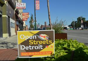 Open Streets Detroit to open roadways for foot and bike traffic