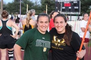 Wayne State twins dominate track team