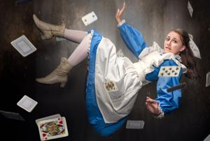 'Alice in Wonderland' falls into Bonstelle