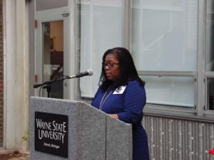 Wayne State Insiders help students get to know new social work building