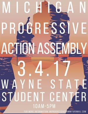 """""""I hope that Wayne State organizations will come out to participate and join this coalition."""